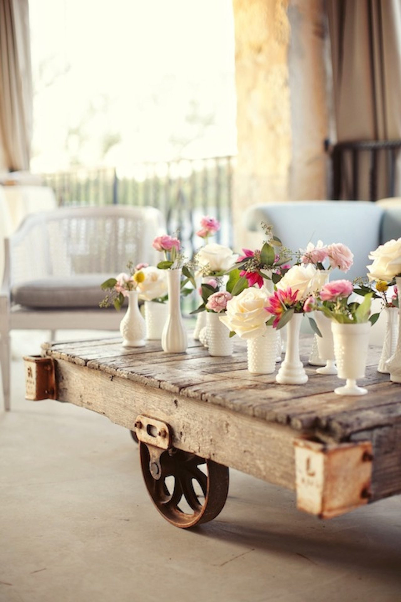 Rehearsal Dinner Centerpieces  A Chic Summer Rehearsal Dinner The Sweetest Occasion