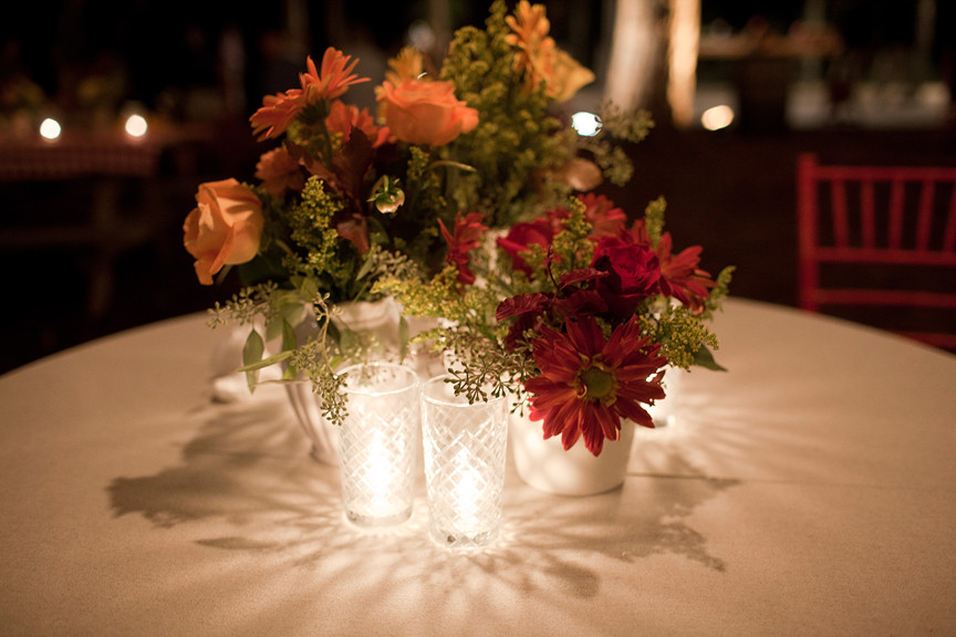 Rehearsal Dinner Centerpieces  Inspired by A Down Home Rehearsal Dinner Inspired By This