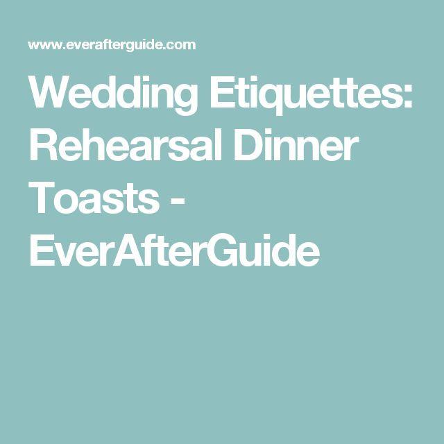 Rehearsal Dinner Toasts  Best 25 Rehearsal dinner speech ideas on Pinterest