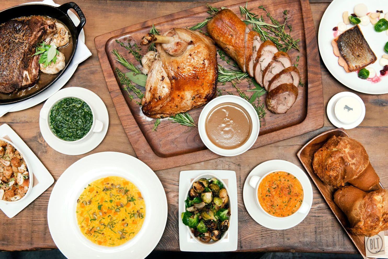 Restaurants Serving Thanksgiving Dinner 2018  6 restaurants serving Thanksgiving dinner around