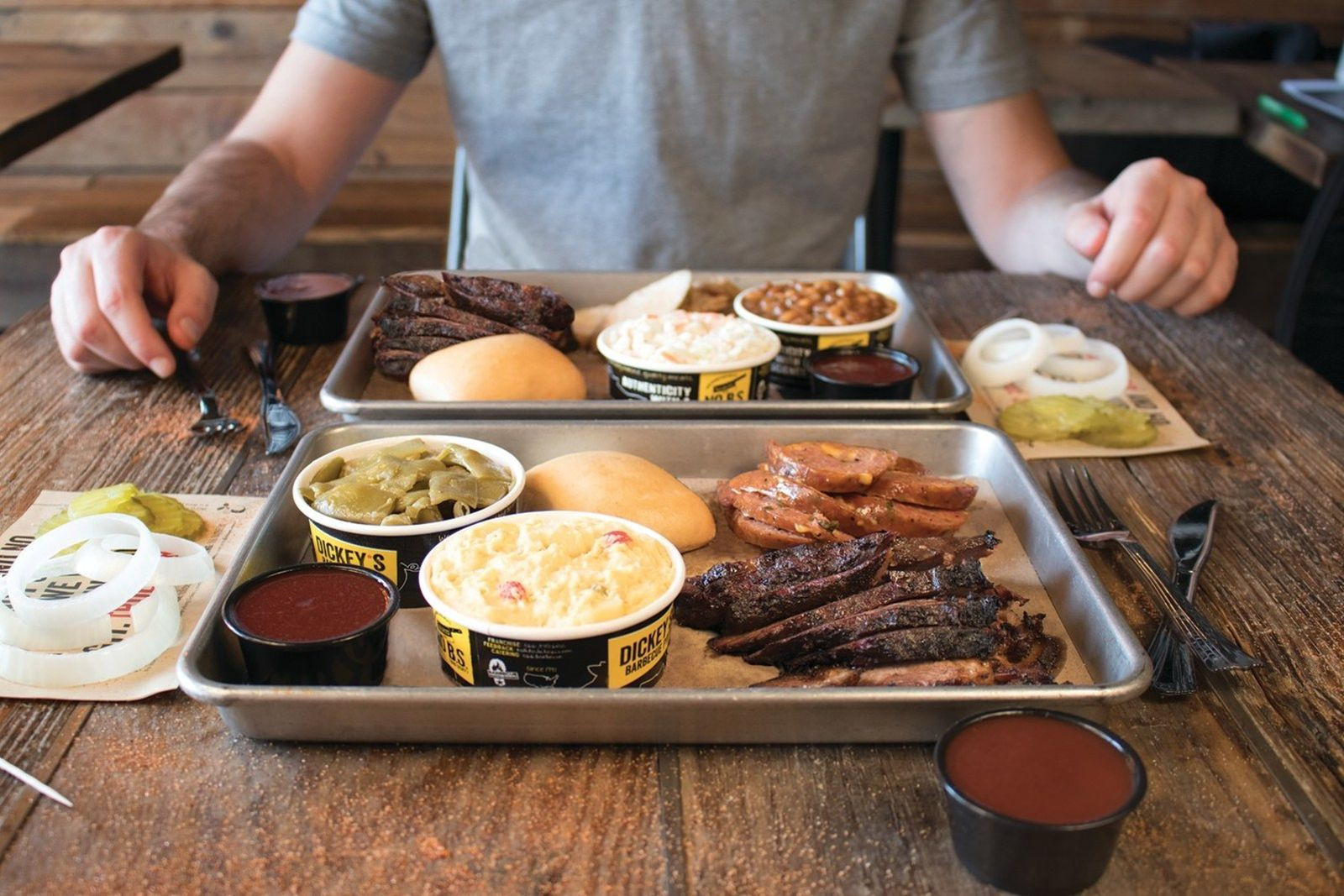Restaurants With Dinner For 2 Specials  Dickey s Barbecue Pit fers Delicious Dinner Special for
