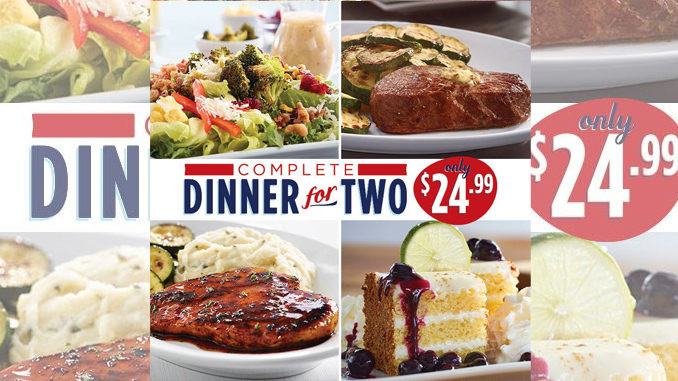 Restaurants With Dinner For 2 Specials  Ruby Tuesday fers plete Dinner For 2 For $24 99