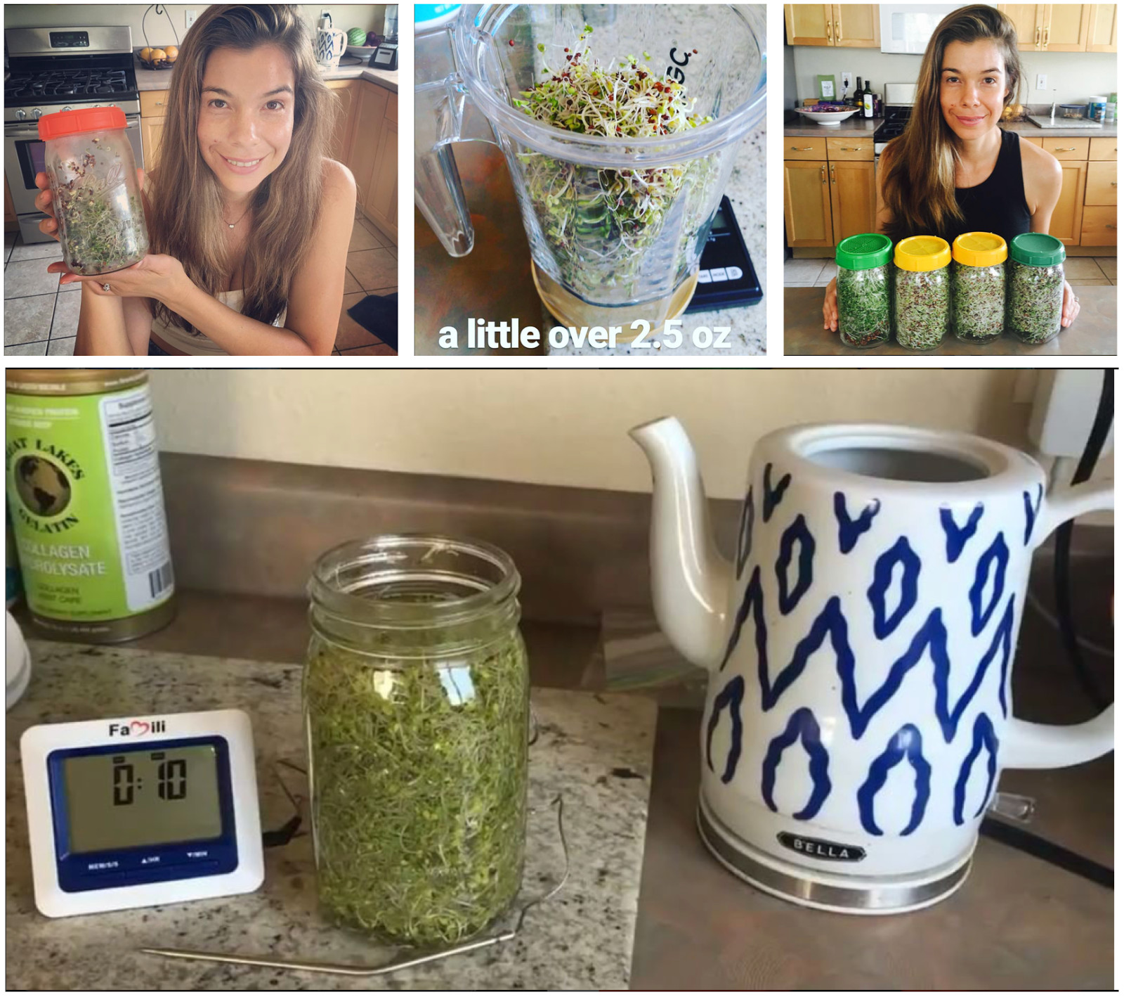 Rhonda Patrick Broccoli Sprouts  Two of the most beneficial things you can do for your