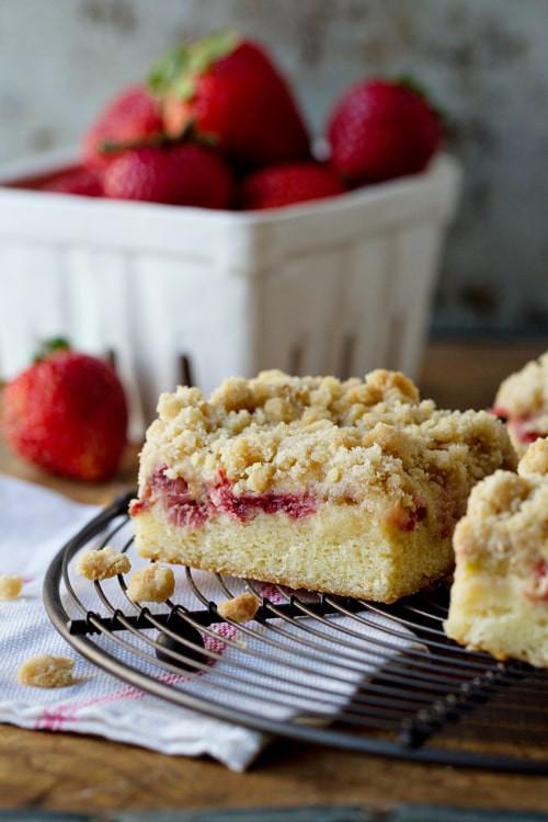 Rhubarb Cake Recipe  martha stewart strawberry rhubarb coffee cake