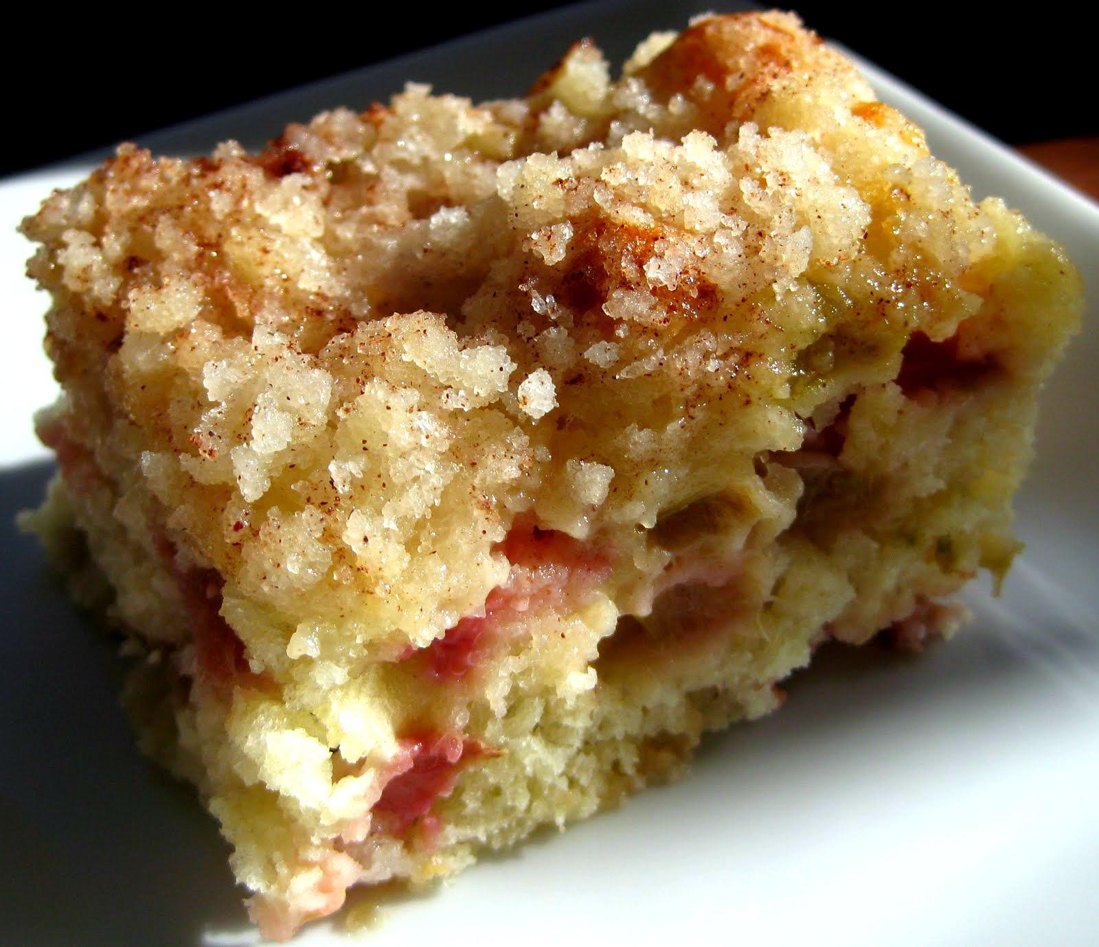 Rhubarb Cake Recipe  Karis Kitchen