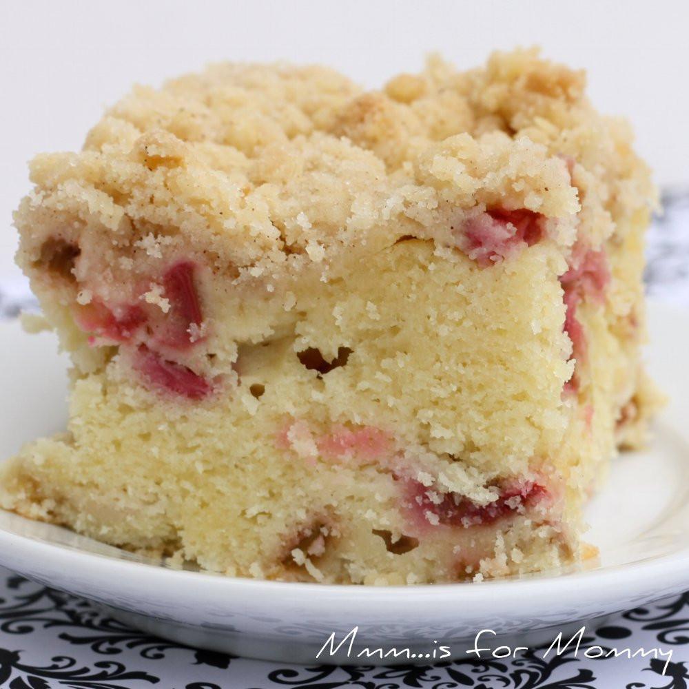 Rhubarb Cake Recipe  Rhubarb Buttermilk Cake Mmm is for Mommy