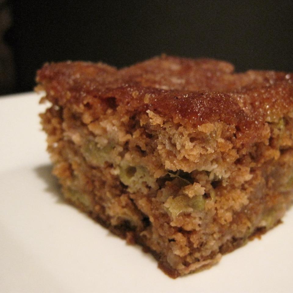 Rhubarb Cake Recipe  Moist rhubarb cake recipe All recipes UK