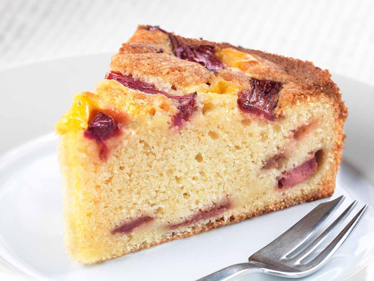 Rhubarb Cake Recipe  rhubarb custard cake