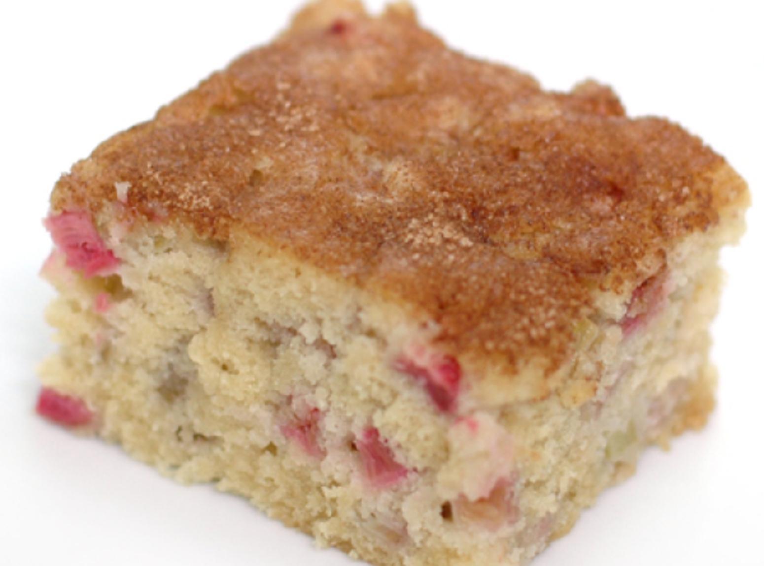Rhubarb Dessert Recipes  Rhubarb Cake Recipe 6