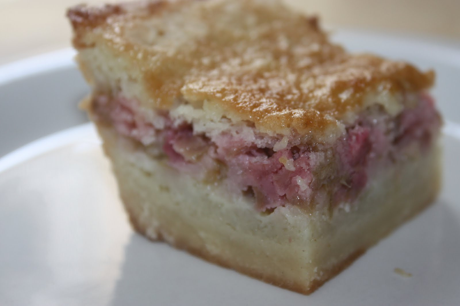 Rhubarb Dessert Recipes  The Found Recipe Box Making the Rounds with Rhubarb