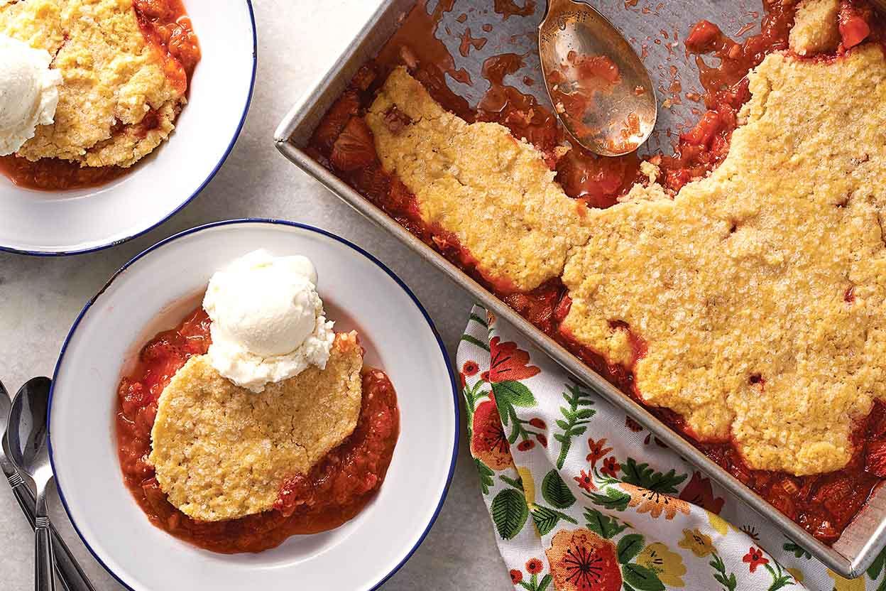 Rhubarb Dessert Recipes  best apple crisp ever