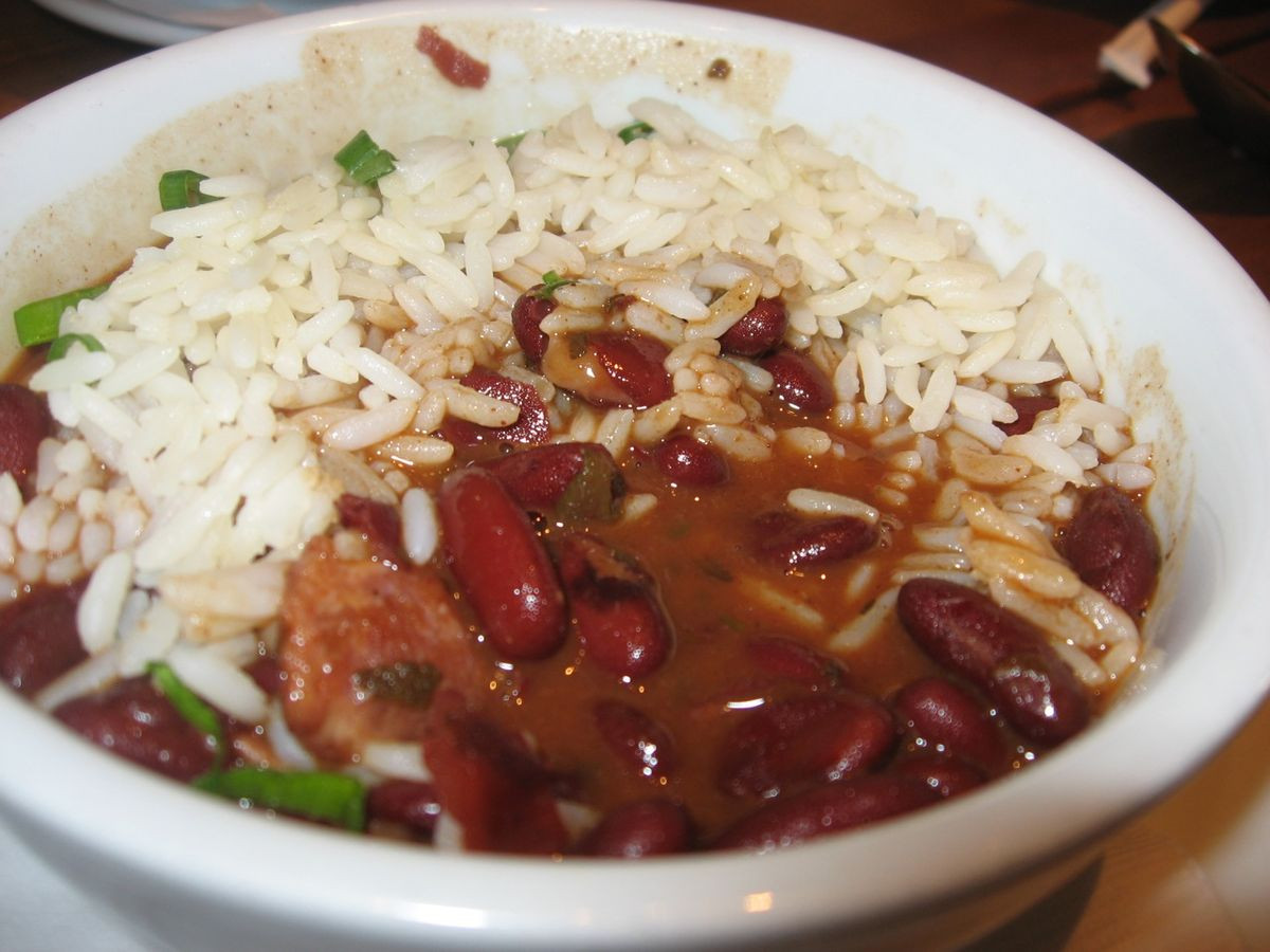 Rice And Beans Restaurant  Red beans and rice