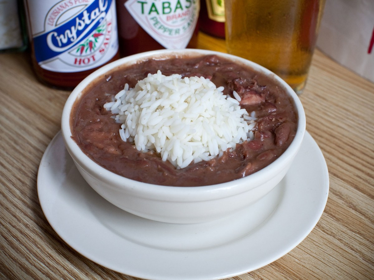 Rice And Beans Restaurant  Recipe Red Beans and Rice from Mother s Restaurant New