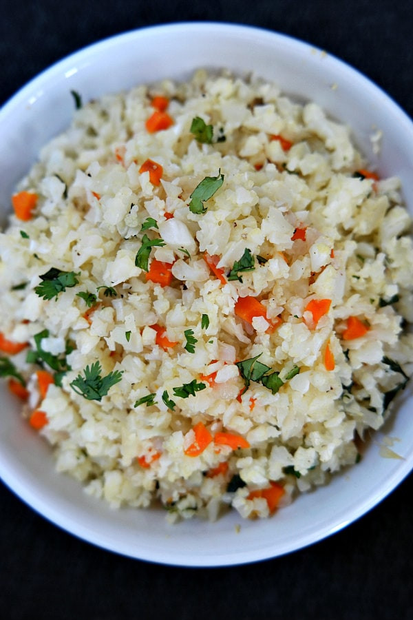 Rice Cauliflower Recipes  recipes using riced cauliflower