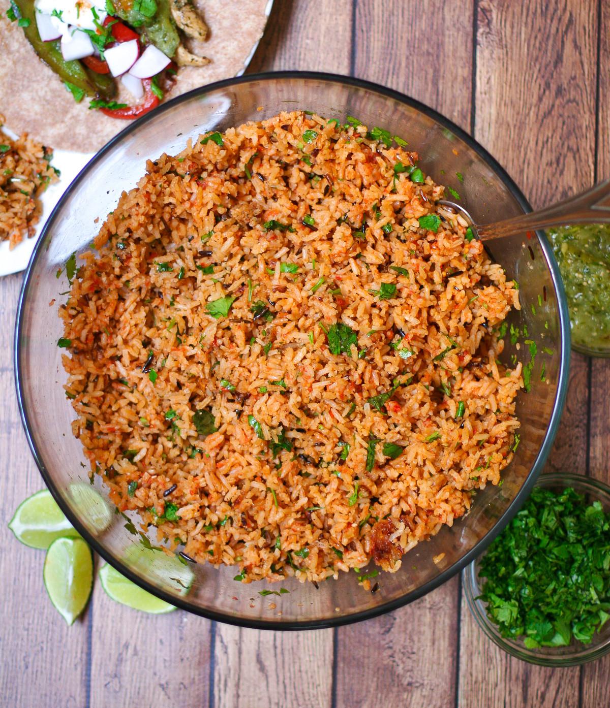 Rice Cooker Mexican Rice  Rice Cooker Mexican Rice Erica Julson