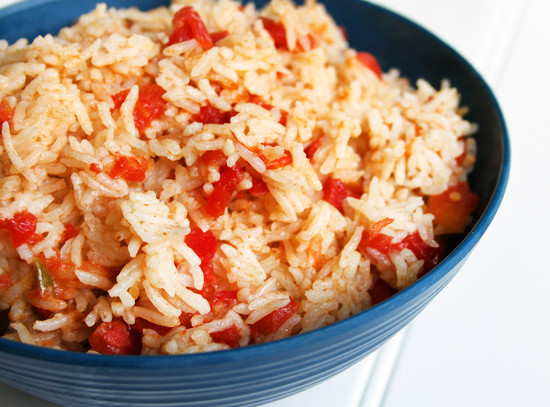 Rice Cooker Mexican Rice  Basic Spanish Rice recipe in the Rice Cooker frugal easy