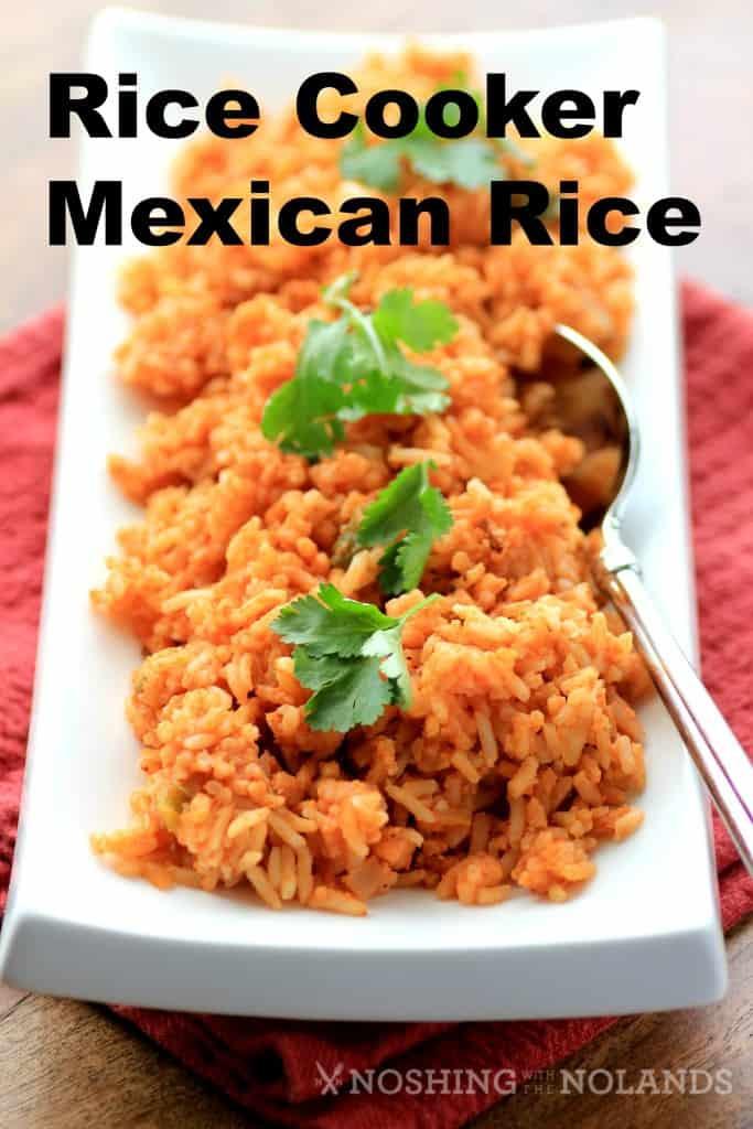 Rice Cooker Mexican Rice  Rice Cooker Mexican Rice