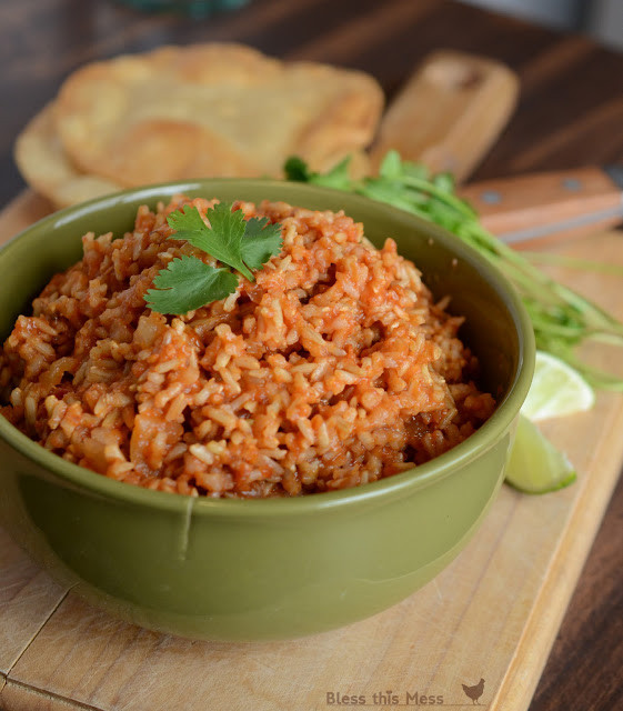 Rice Cooker Mexican Rice  Easy Spanish Rice in the Rice Cooker Bless This Mess