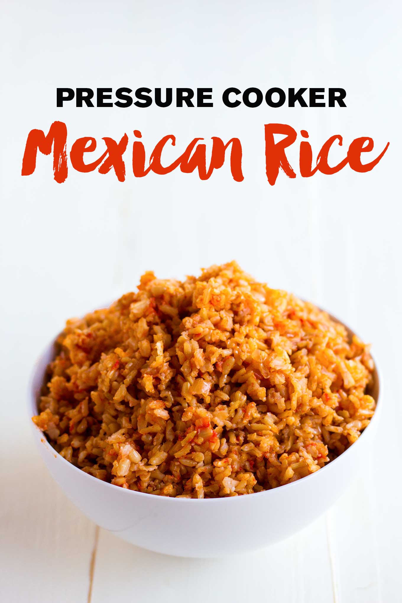 Rice Cooker Mexican Rice  Pressure Cooker Mexican Rice