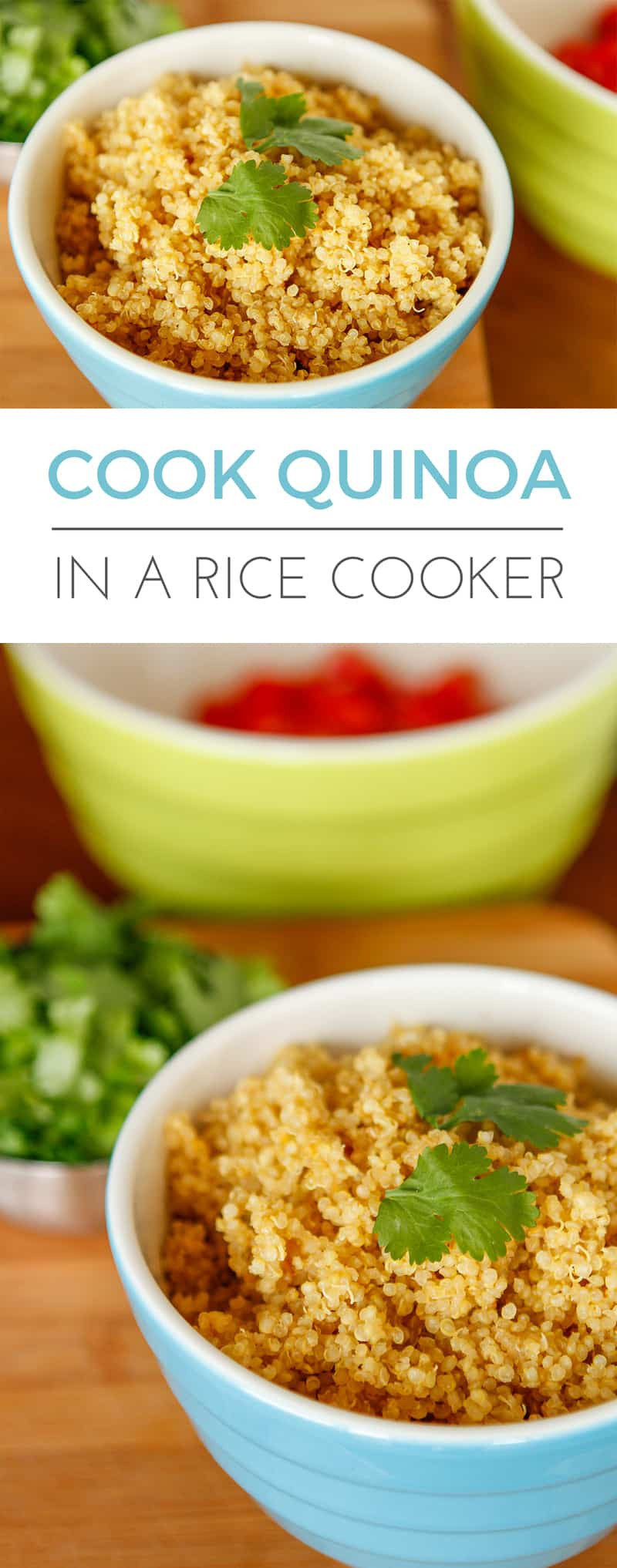 Rice Cooker Quinoa  How to Make Quinoa in a Rice Cooker – Unsophisticook