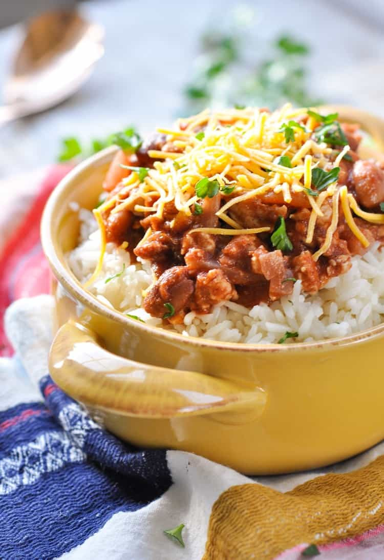 Rice Dinner Recipes  Mom s 20 Minute Red Beans and Rice The Seasoned Mom