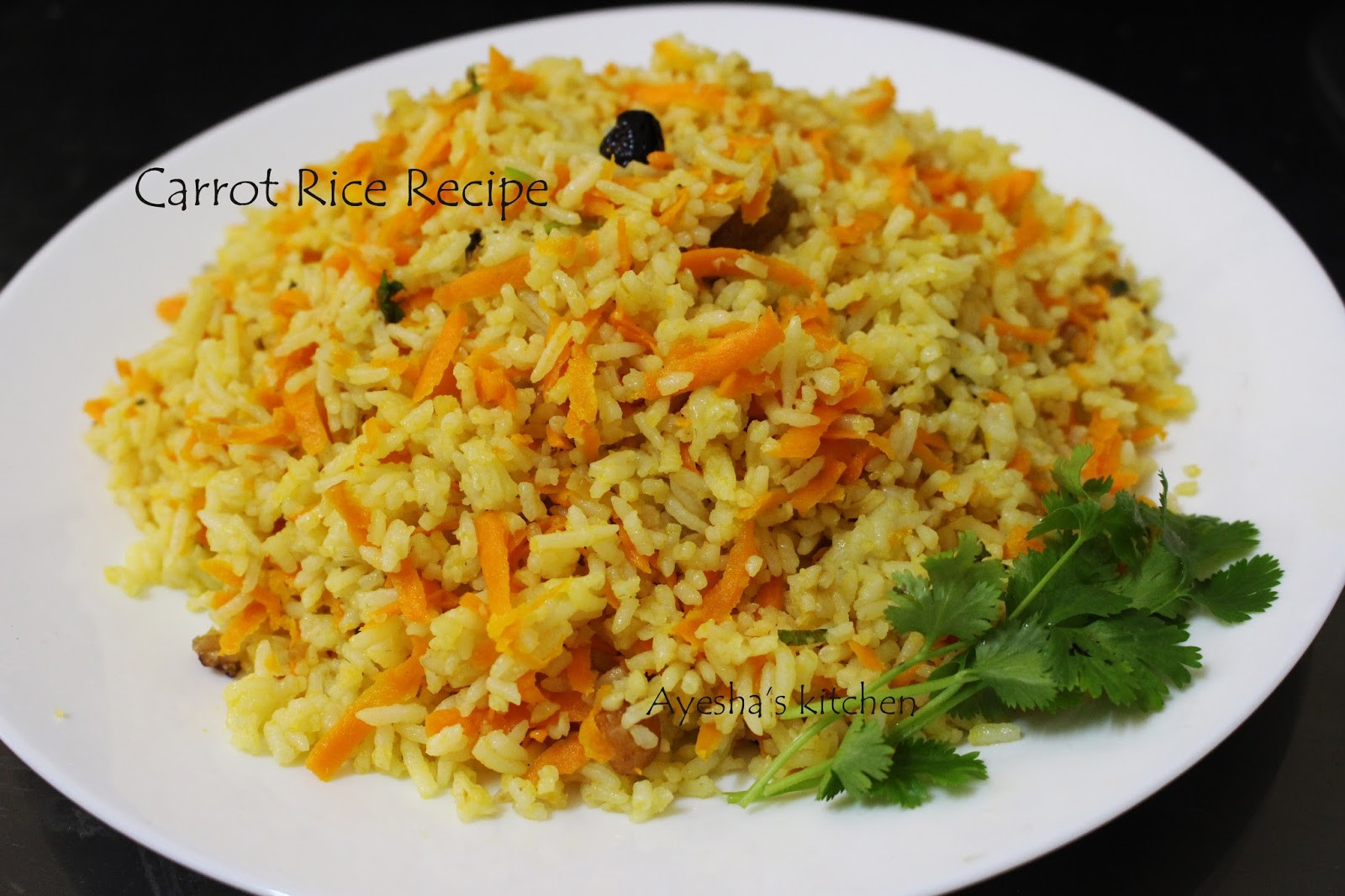 Rice Dinner Recipes  CARROT RICE HOW TO MAKE CARROT RICE QUICK LUNCH