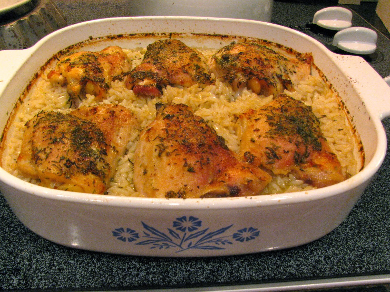 Rice Dinner Recipes  Rita s Recipes The Easiest Chicken & Rice Dinner EVER