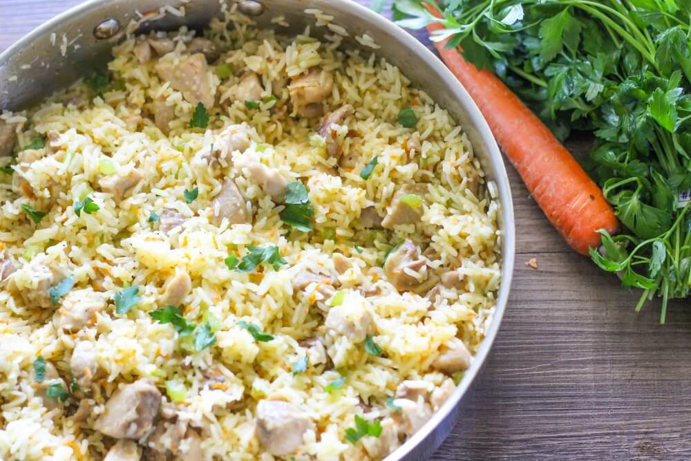 Rice Dinner Recipes  e Pot Creamy Chicken and Rice I Heart Nap Time