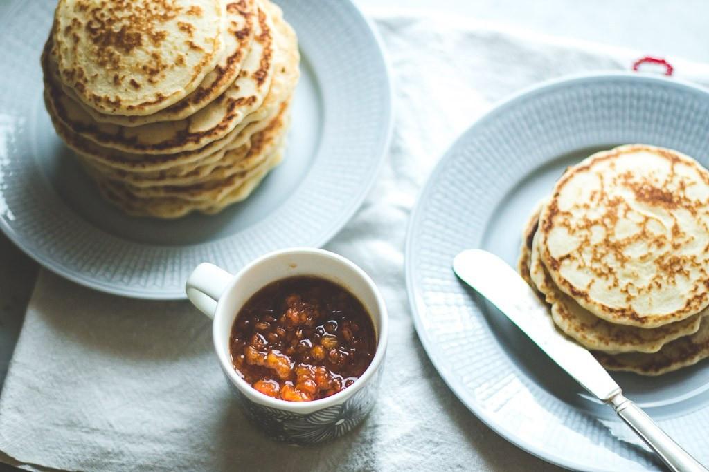 Rice Flour Pancakes  Gluten Free Pancakes with Cloudberry pote