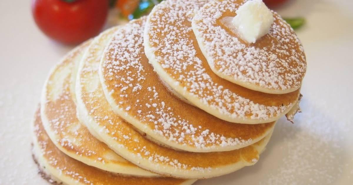 Rice Flour Pancakes  Just Mix Easy Rice Flour Pancakes Recipe by cookpad japan