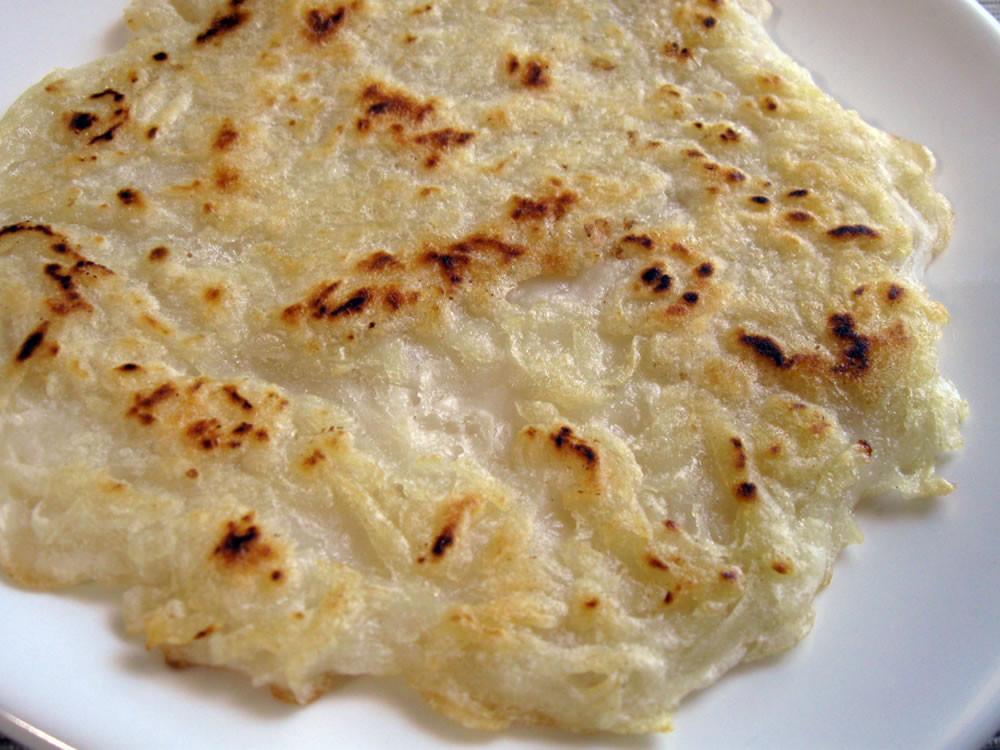 Rice Flour Pancakes  Potato Oyaki Rice Flour Pancakes