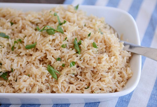 Rice Pilaf Instant Pot  Instant Pot Brown Rice Recipe