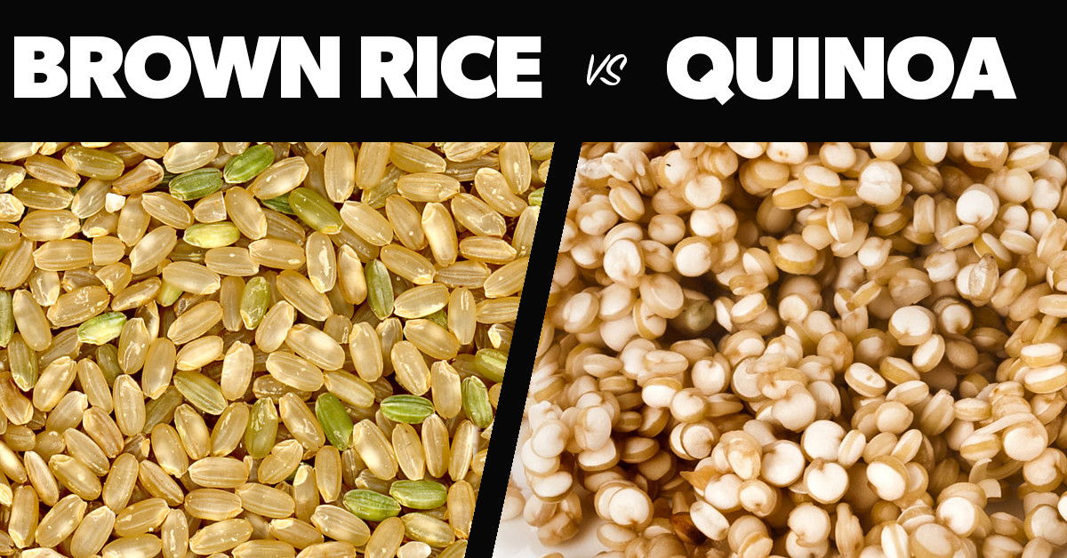 Rice Vs Quinoa  Quinoa vs Brown Rice Eat Fit Fuel