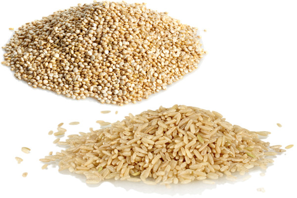 Rice Vs Quinoa  Quinoa vs Brown Rice