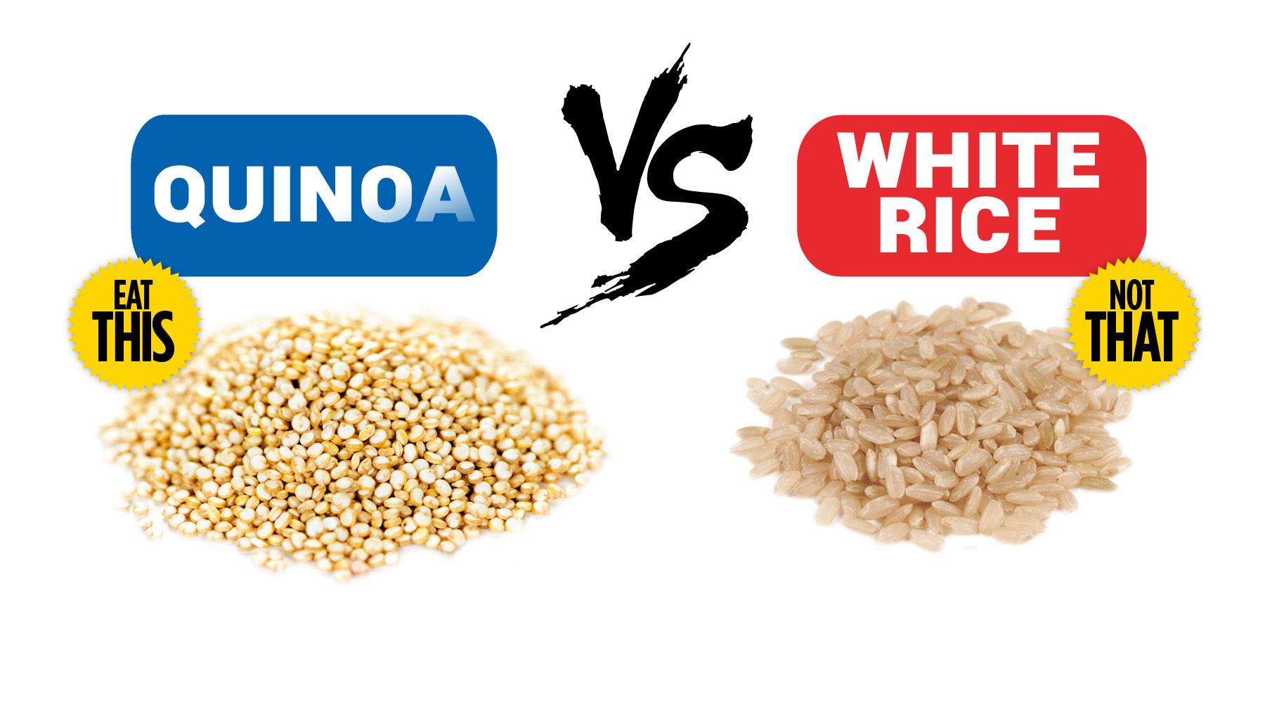 Rice Vs Quinoa  Food Fight Quinoa Vs Rice