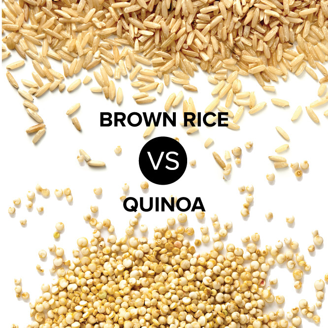 Rice Vs Quinoa  Brown Rice VS Quinoa What is the Healthier Grain