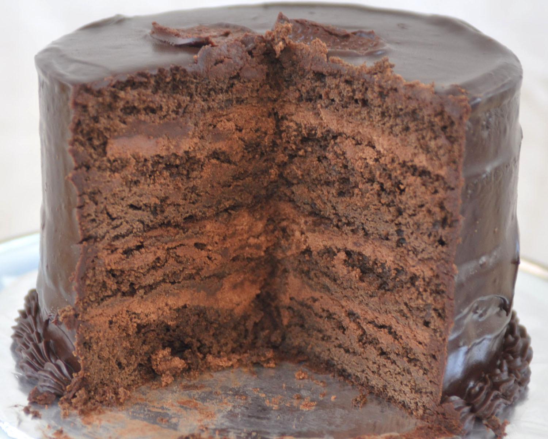 Rich Chocolate Cake  Beki Cook s Cake Blog Rich Chocolate Cake Recipe