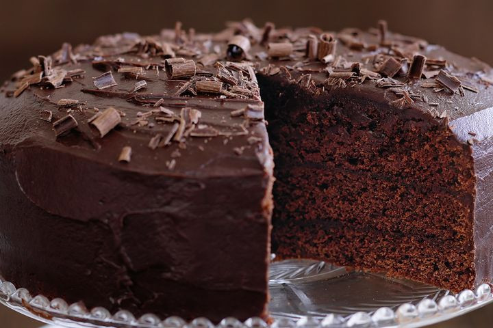 Rich Chocolate Cake  Rich chocolate fudge cake