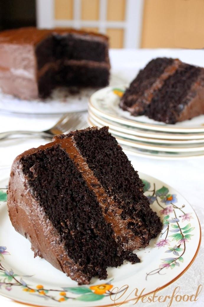 Rich Chocolate Cake  Rich Chocolate Cake Recipe — Dishmaps