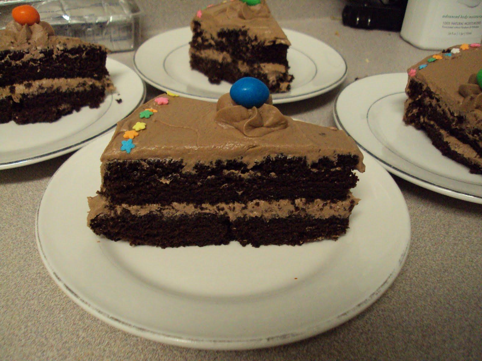 Rich Chocolate Cake  The Muslim Wife s Kitchen Rich Chocolate Cake