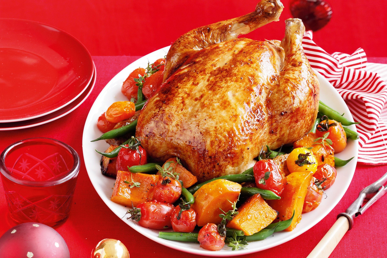 Roast A Whole Chicken  stuffed roasted chicken recipe