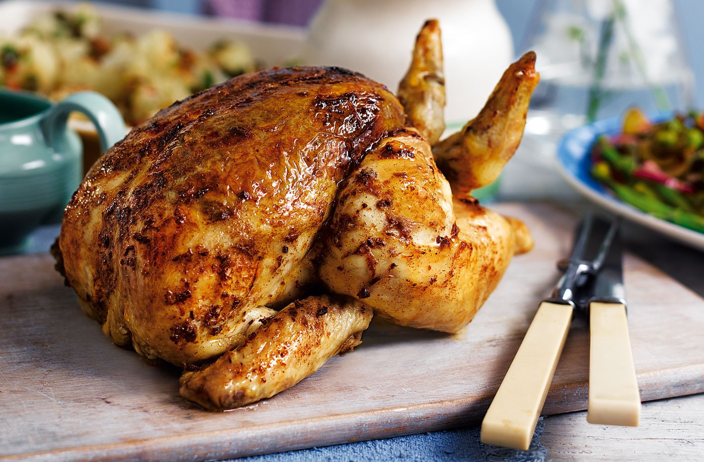 Roast A Whole Chicken  10 Roasted Chicken Recipes That Will Tune Your Culinary Skills