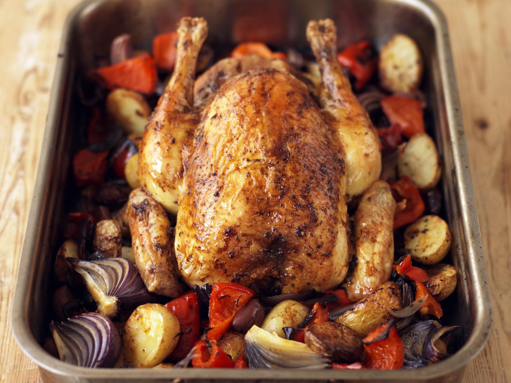 Roast A Whole Chicken  Spanish Style Roast Chicken Recipe Food Republic