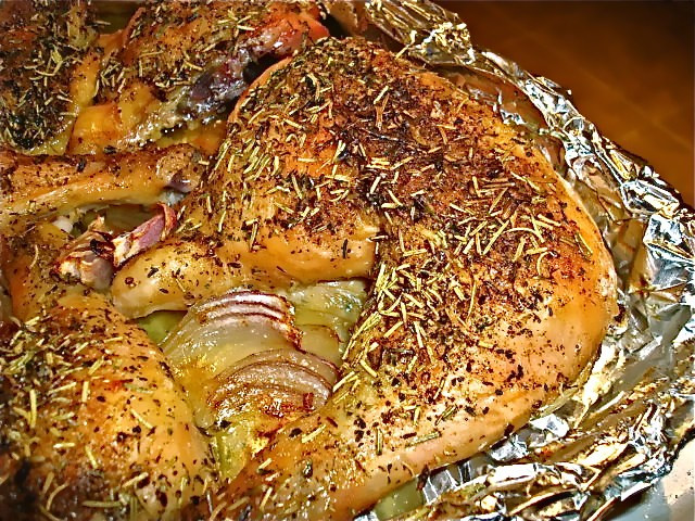 Roast Chicken Legs  Herb Roasted Chicken Legs with Root Ve ables