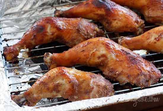 Roast Chicken Legs  Five Spice Roasted Chicken Legs