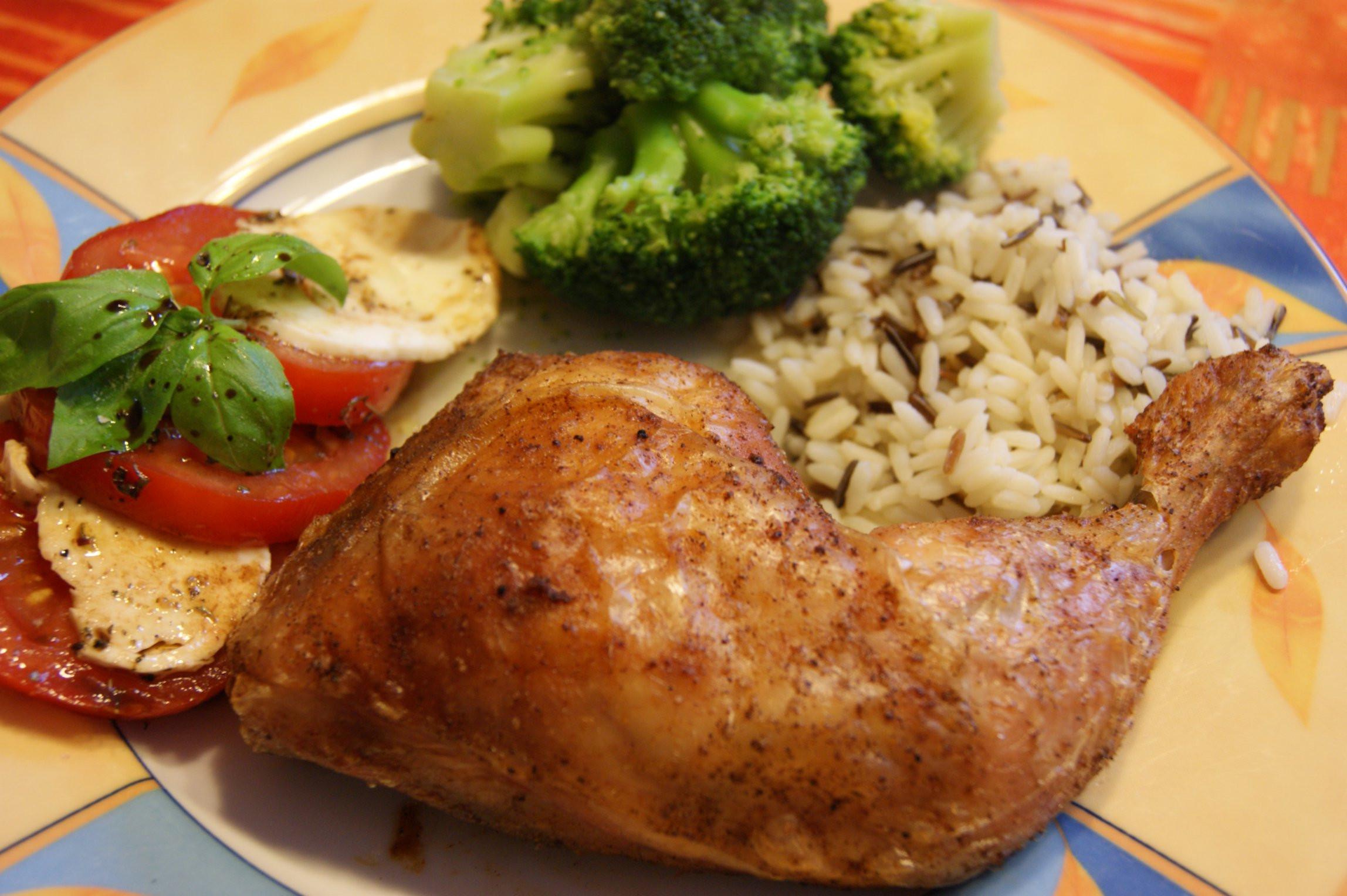 Roast Chicken Legs  Roasted Chicken Legs – ginger lemon & spice