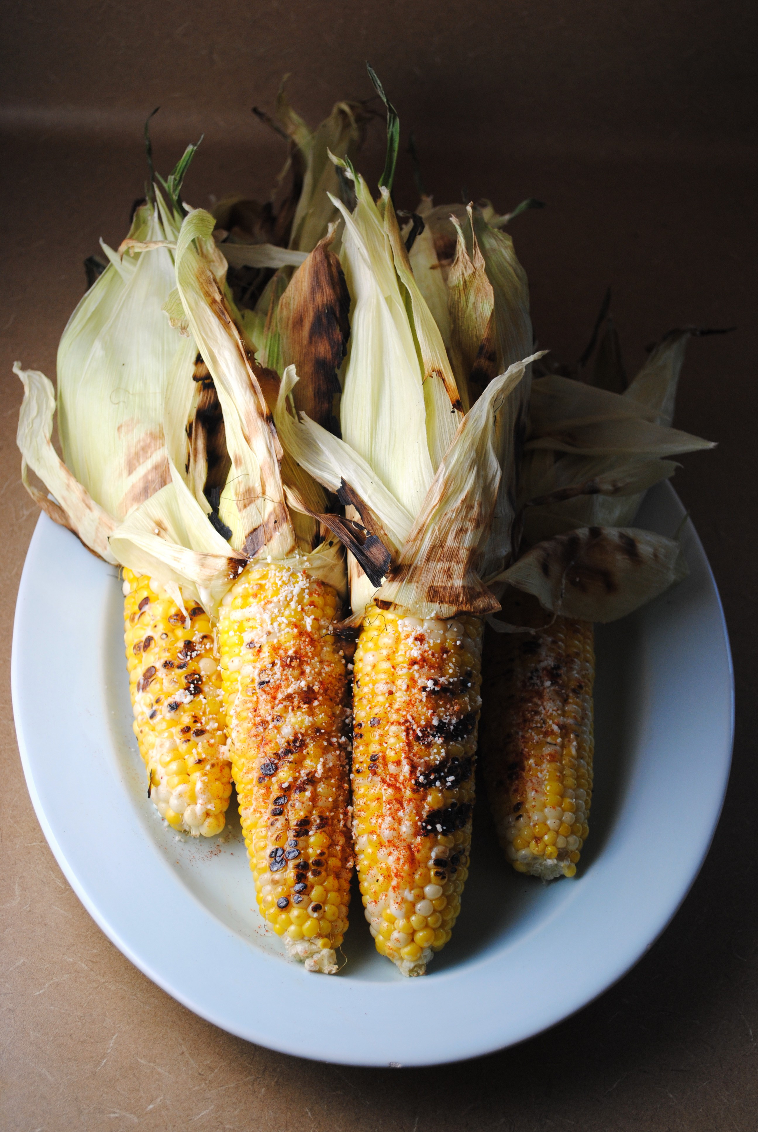 Roast Corn On Grill  Roasted Corn