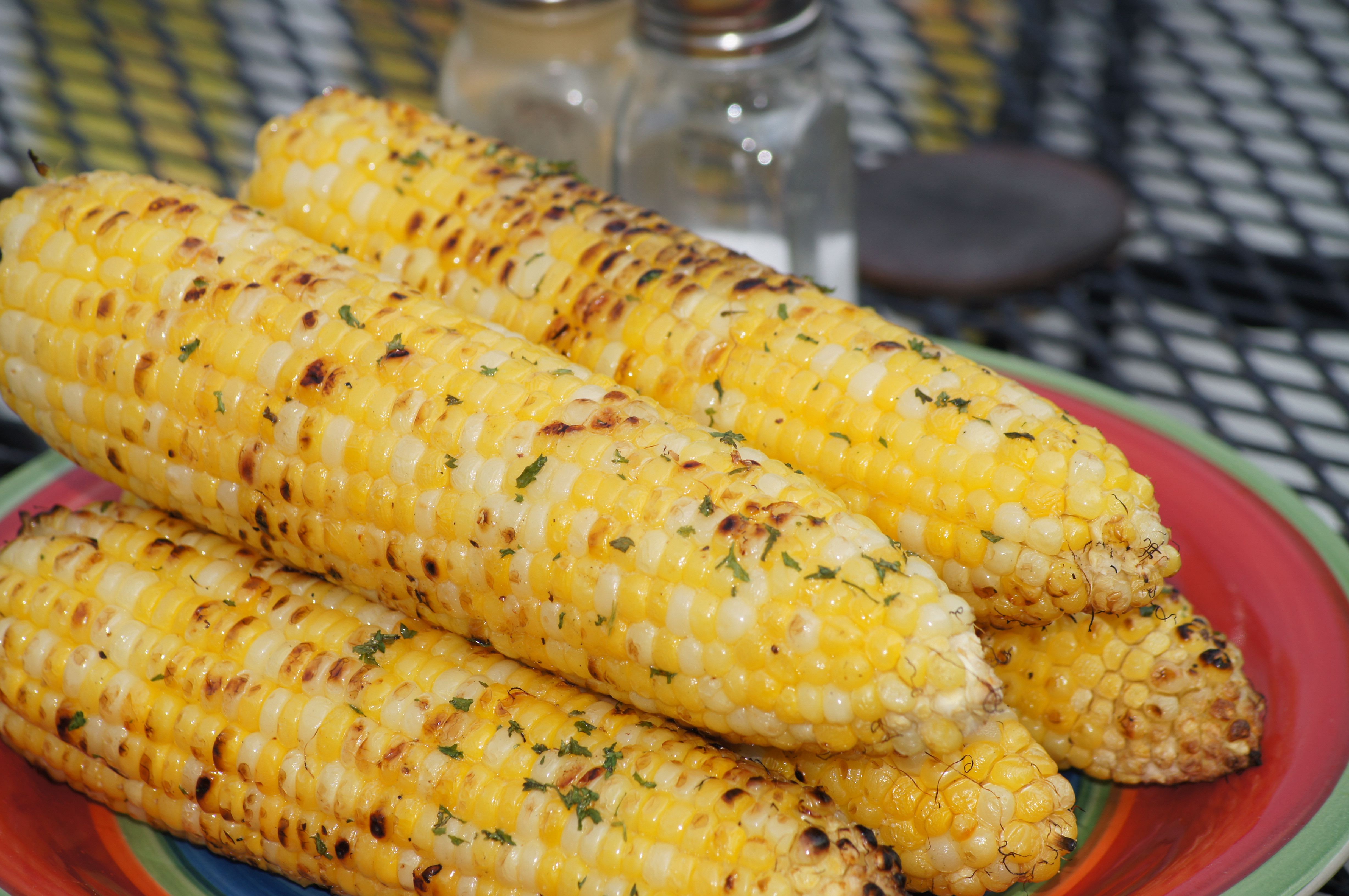Roast Corn On Grill  Grilled Corn