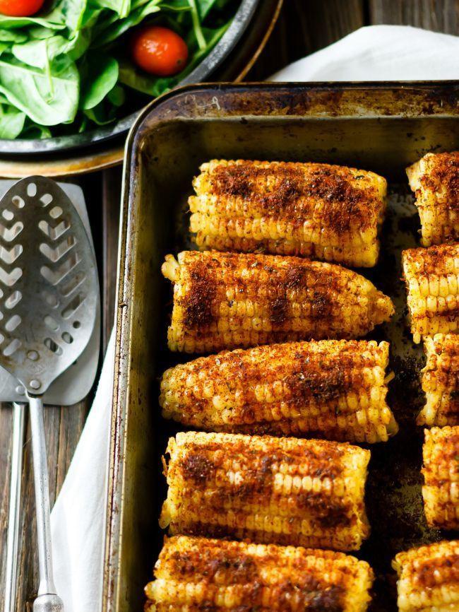 Roast Corn On Grill  Oven Roasted Corn on the Cob
