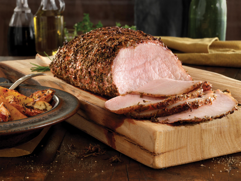 Roast Pork Loin  Balsamic Rosemary Pork Loin with Roasted Potatoes Pork